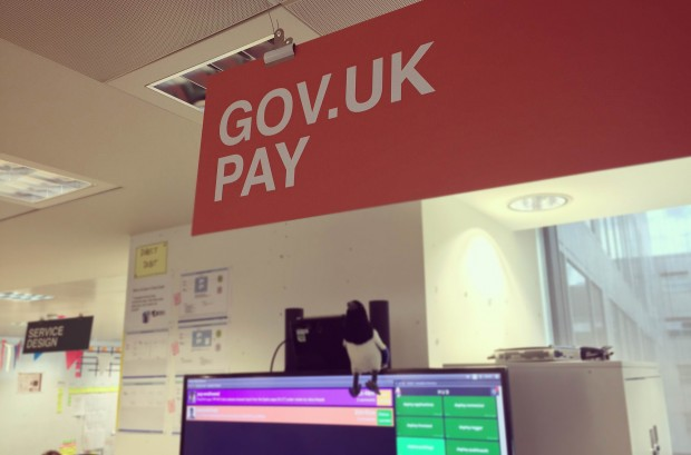 Photo of GOV.UK Pay sign