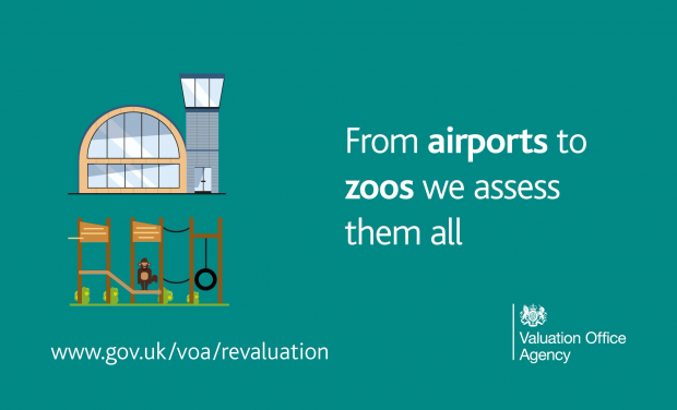 "A picture of an airport and a zoo sit aside text reading ""From airports to zoos, we assess them all"""